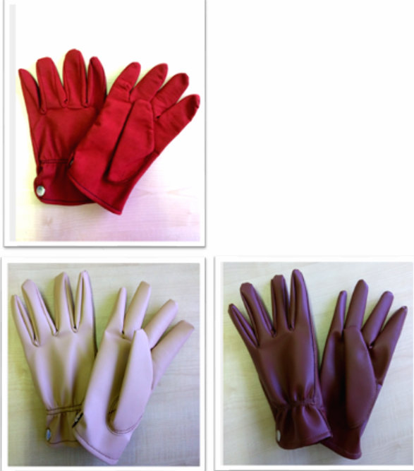 90. MICRO-FIBER BUTTON GLOVE
