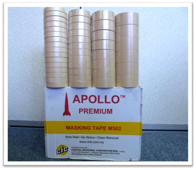 B46. MASKING TAPE (APOLLO) 502   502(APOLLO)美纹纸胶带