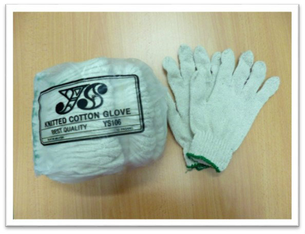 B17. YS106 COTTON GLOVE  棉手套