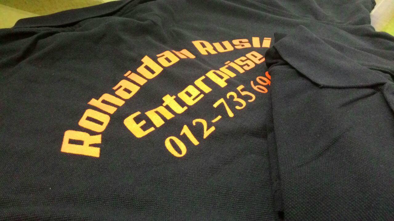Design t shirt johor - Tshirt Silkscreen