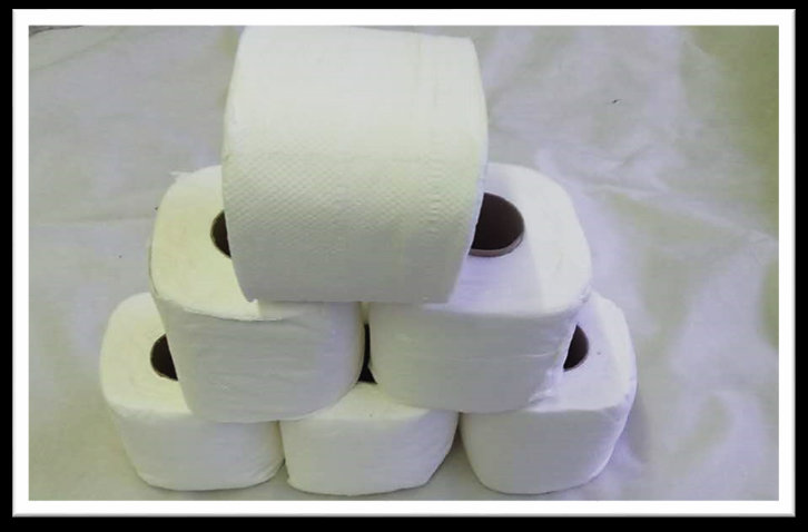B123. TOILET TISSUE ROLL