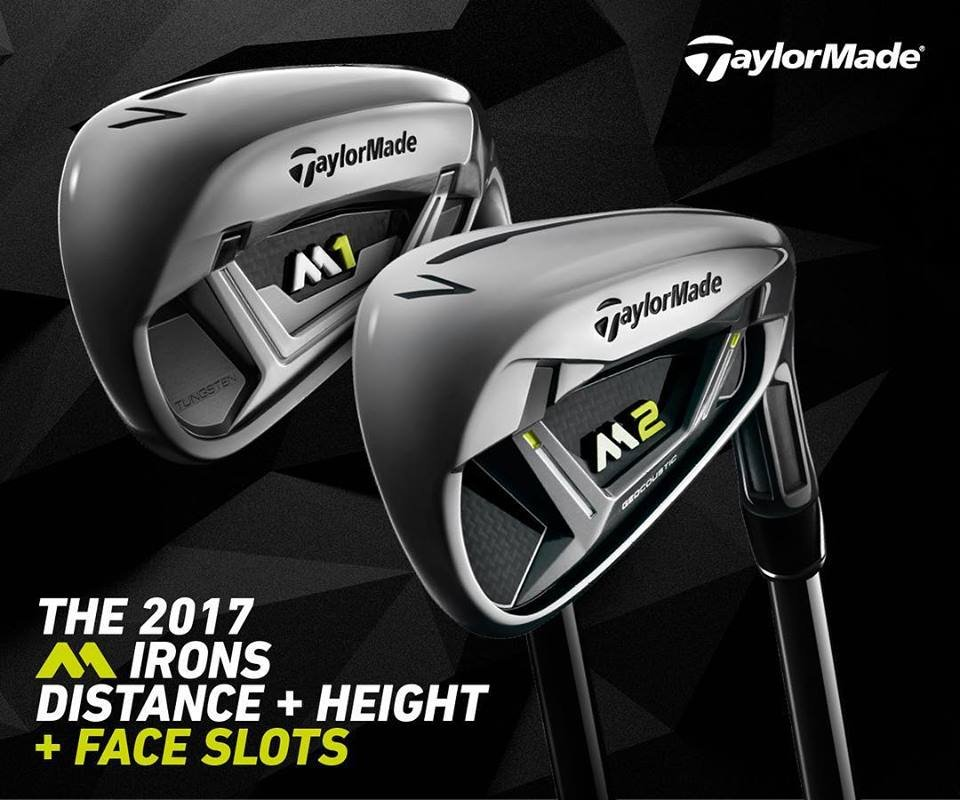 TaylorMade M1 and Taylormade M2 Irons 2017 series