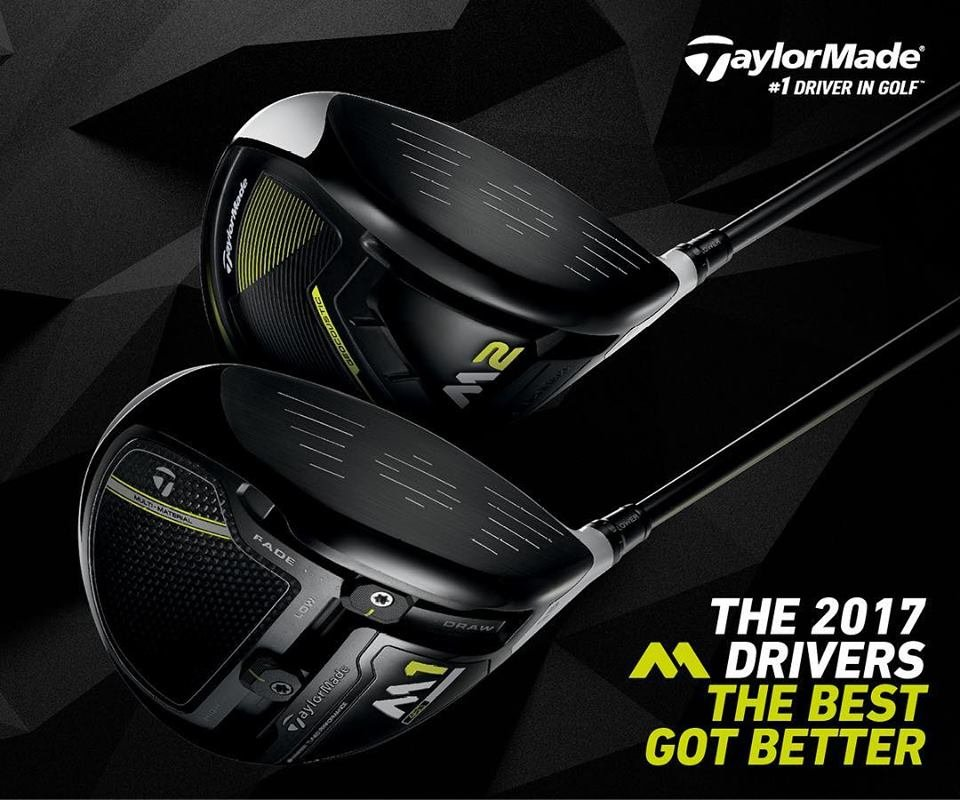 Taylormade M1 and Taylormade M2 Driver 2017 Series