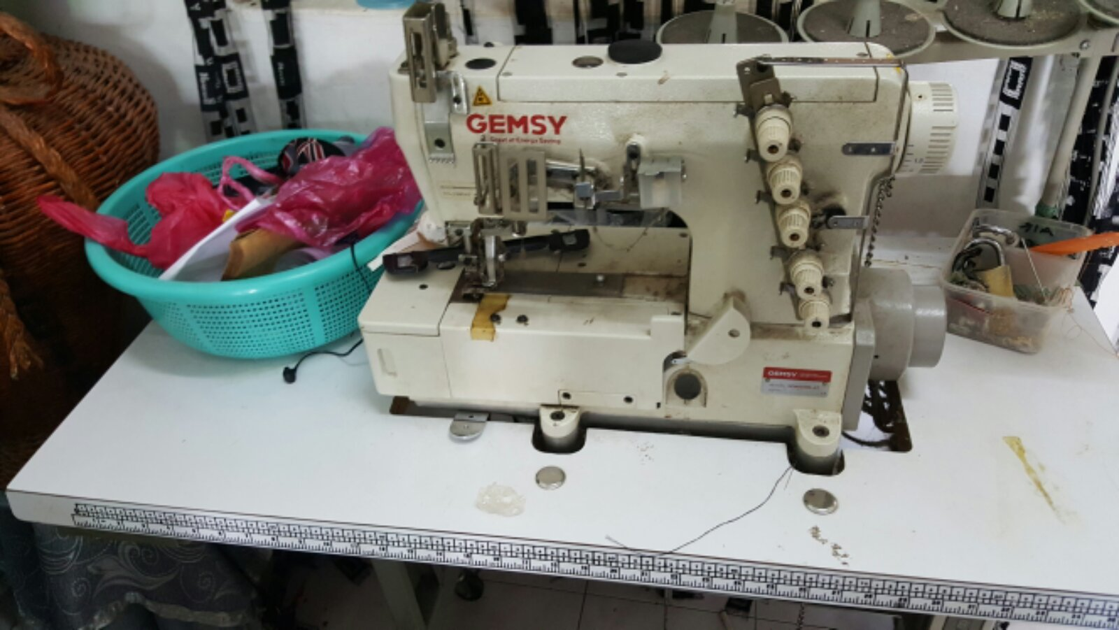 2nd Interlock sewing Machine@@