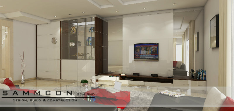 senibong villas interior design and renovation . johor bahru