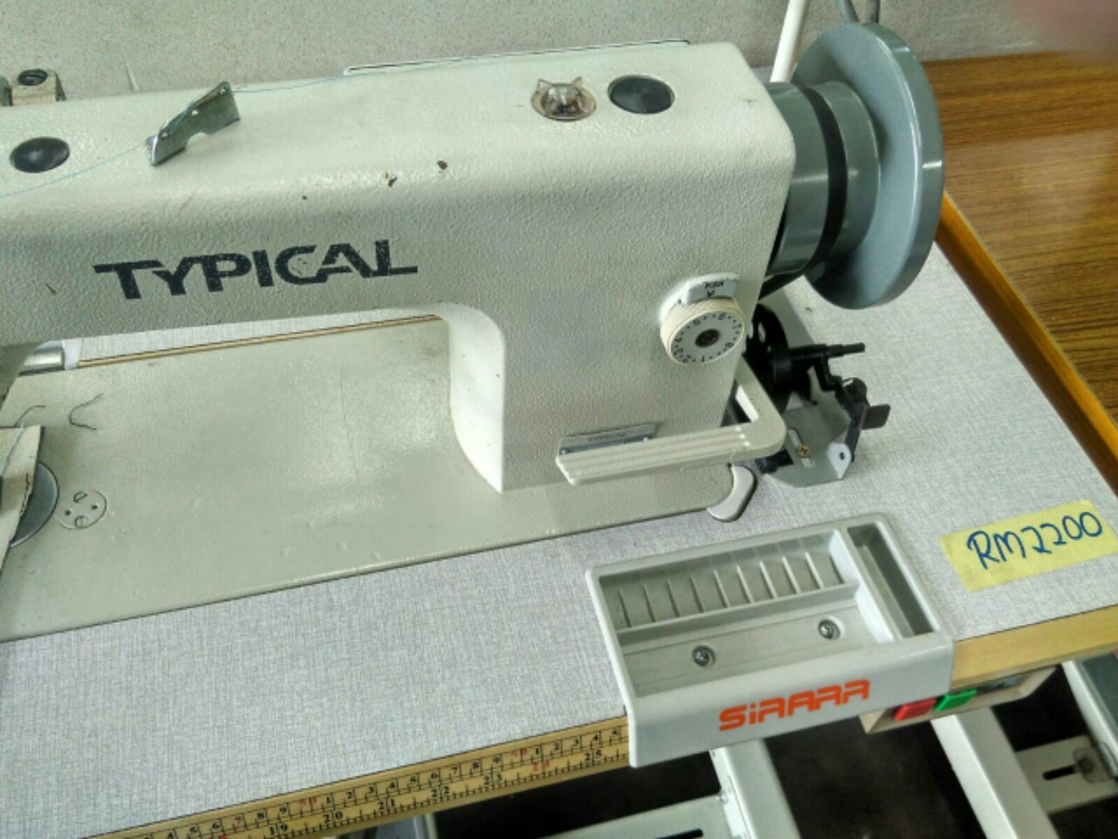 Second Hand Sewing Sofe Machine!