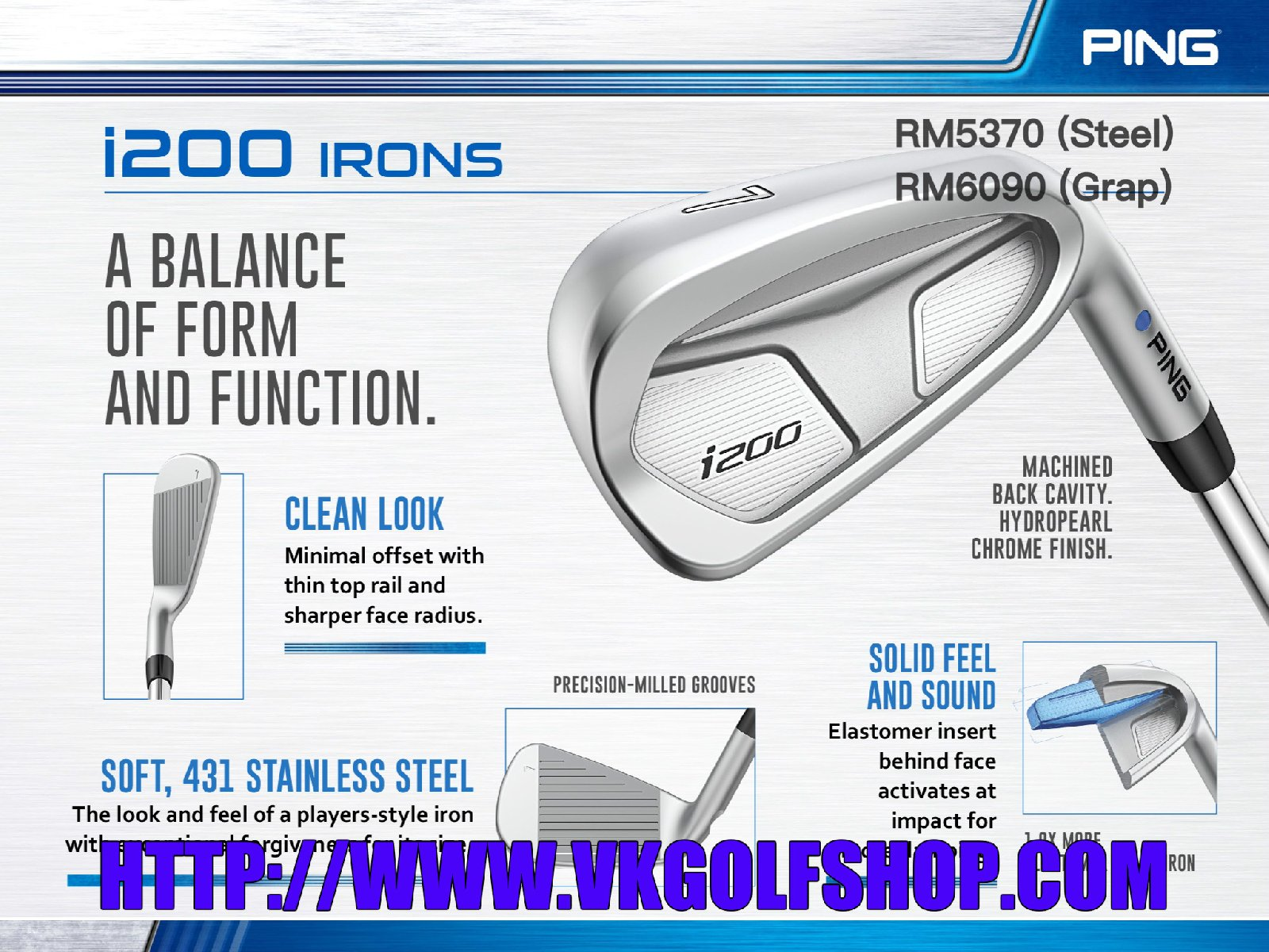 Ping I200 Irons 2017 Series
