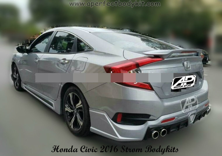 Honda Civic 2016 Strom Bodykits