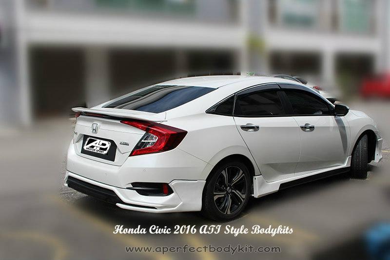 Honda Civic 2016 Ati Style Bodykits