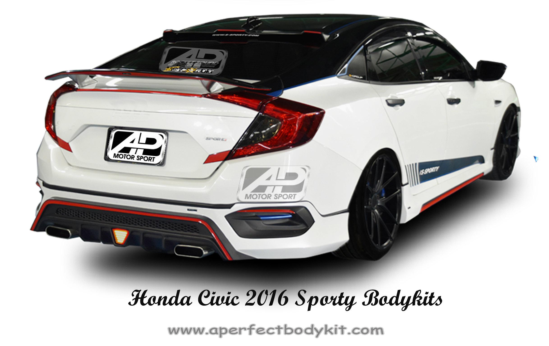 Honda Civic 2016 Sporty Bodykits Honda Civic 2016 Johor