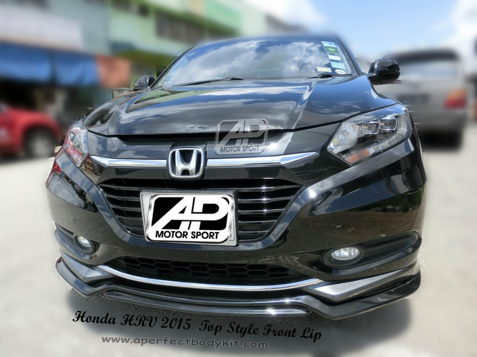 Honda HRV / VEZEL 2015 Top Style Front Lip Honda HRV ...