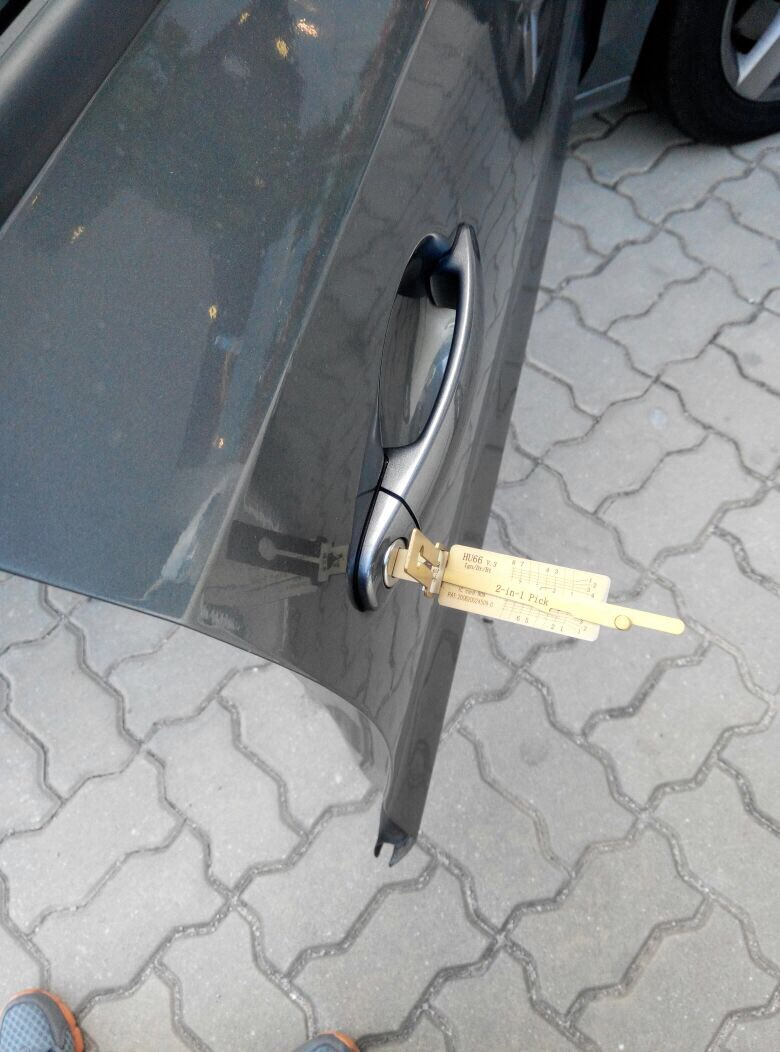 Unlock Vehicle
