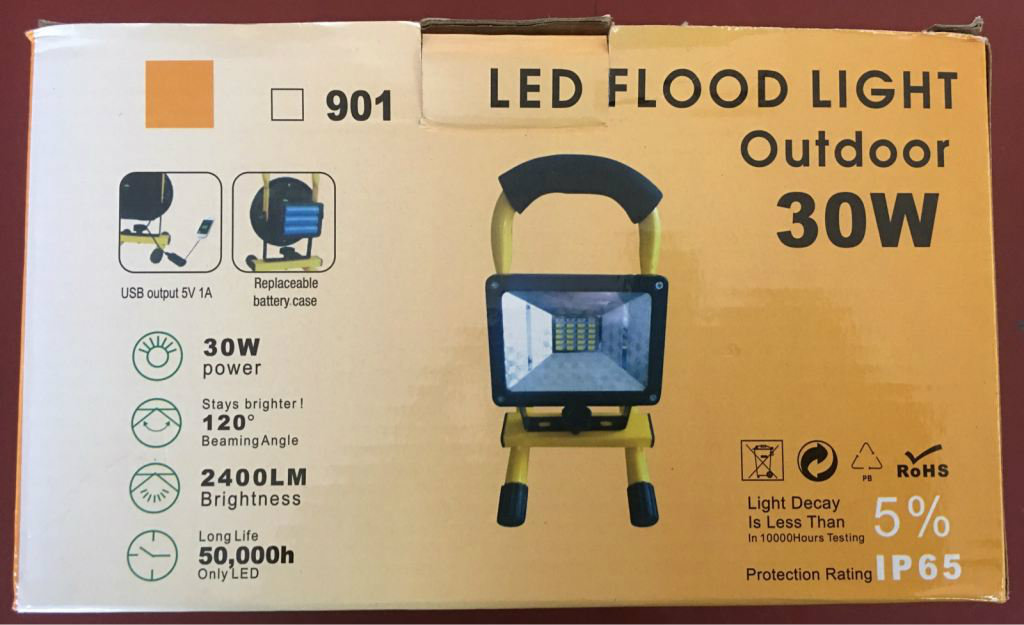 LED FLOOD LIGHT 30W / 50W