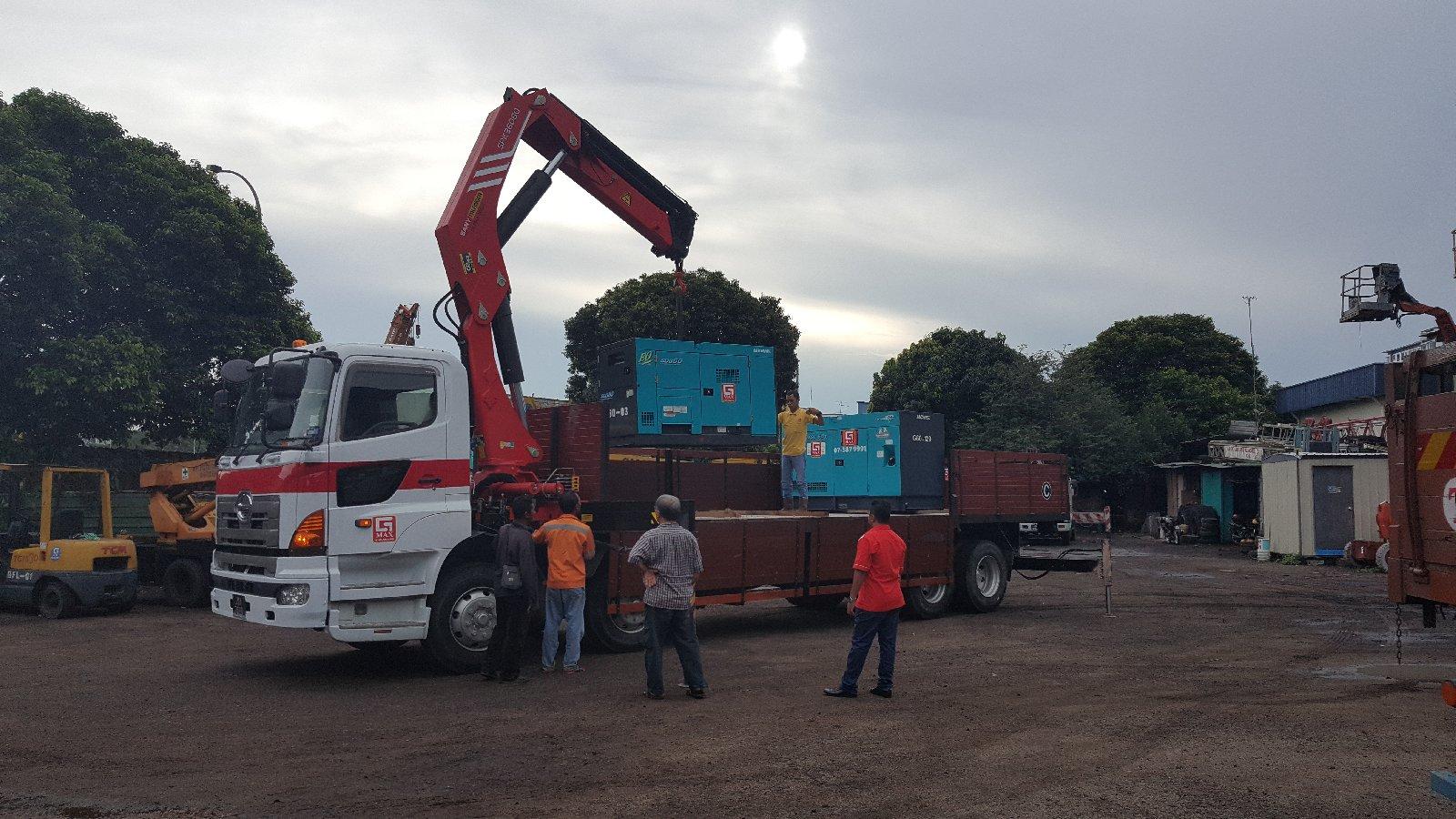 Mobile Crane Rental Malaysia : Lorry crane johor bahru jb sales rental services