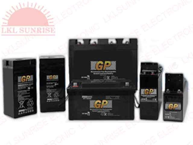 GP SEALED LEAD ACID RECHARGEABLE BATTERIES