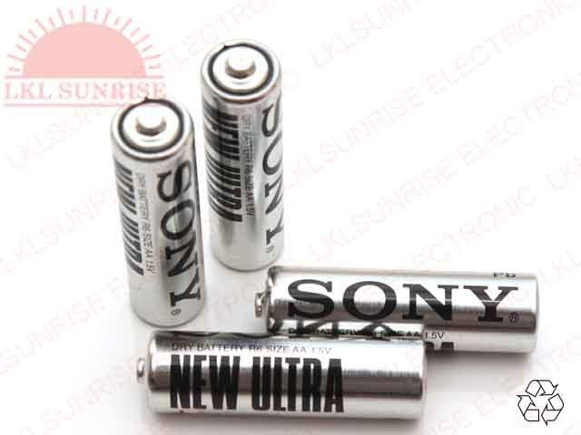 SONY HEAVY DUTY BATTERY 1.5V AA
