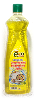 Eco- Dishwash 1 Lt (Yellow) 1942