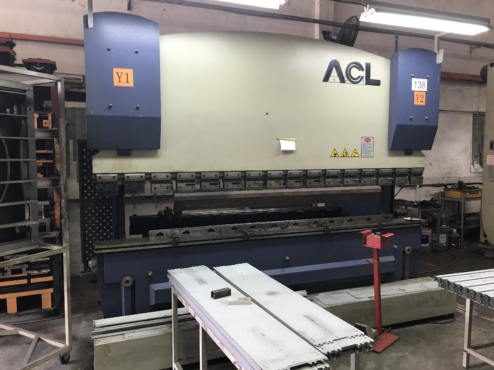 Used CNC Hydraulic Press Brake 100t/3100