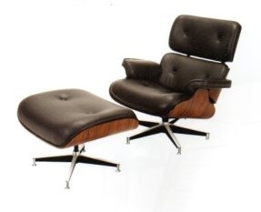 Lounge Chair+stool