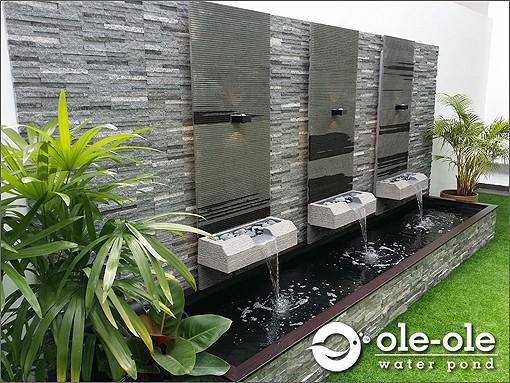 ECOP193 (b)1.Water Ponds Design Malaysia.Kolam Ikan.Hiasan.Johor.Fengshui.Home  Deco.Water Feature.风水