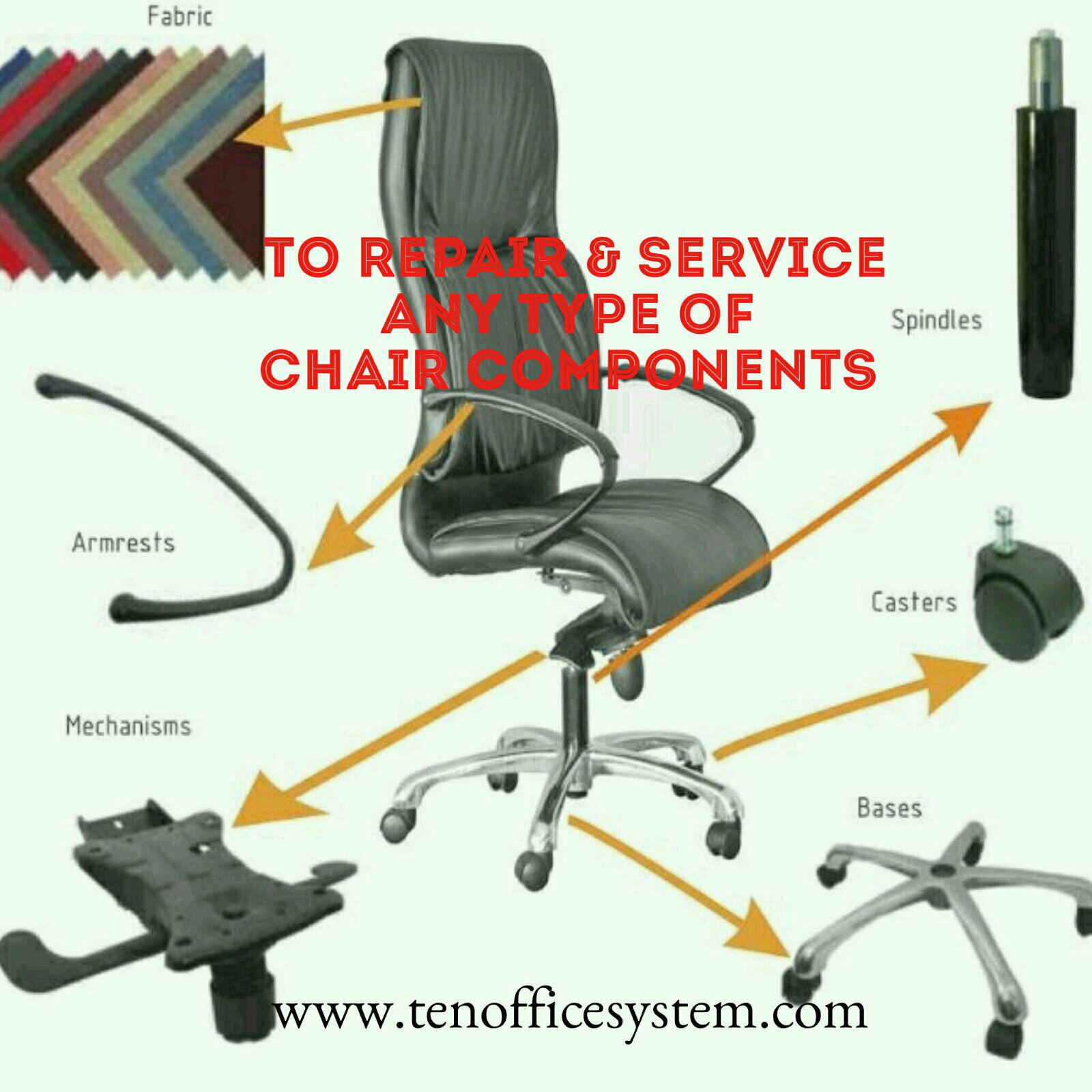 TO REPAIR & SERVICE To repair and service chair repair and service