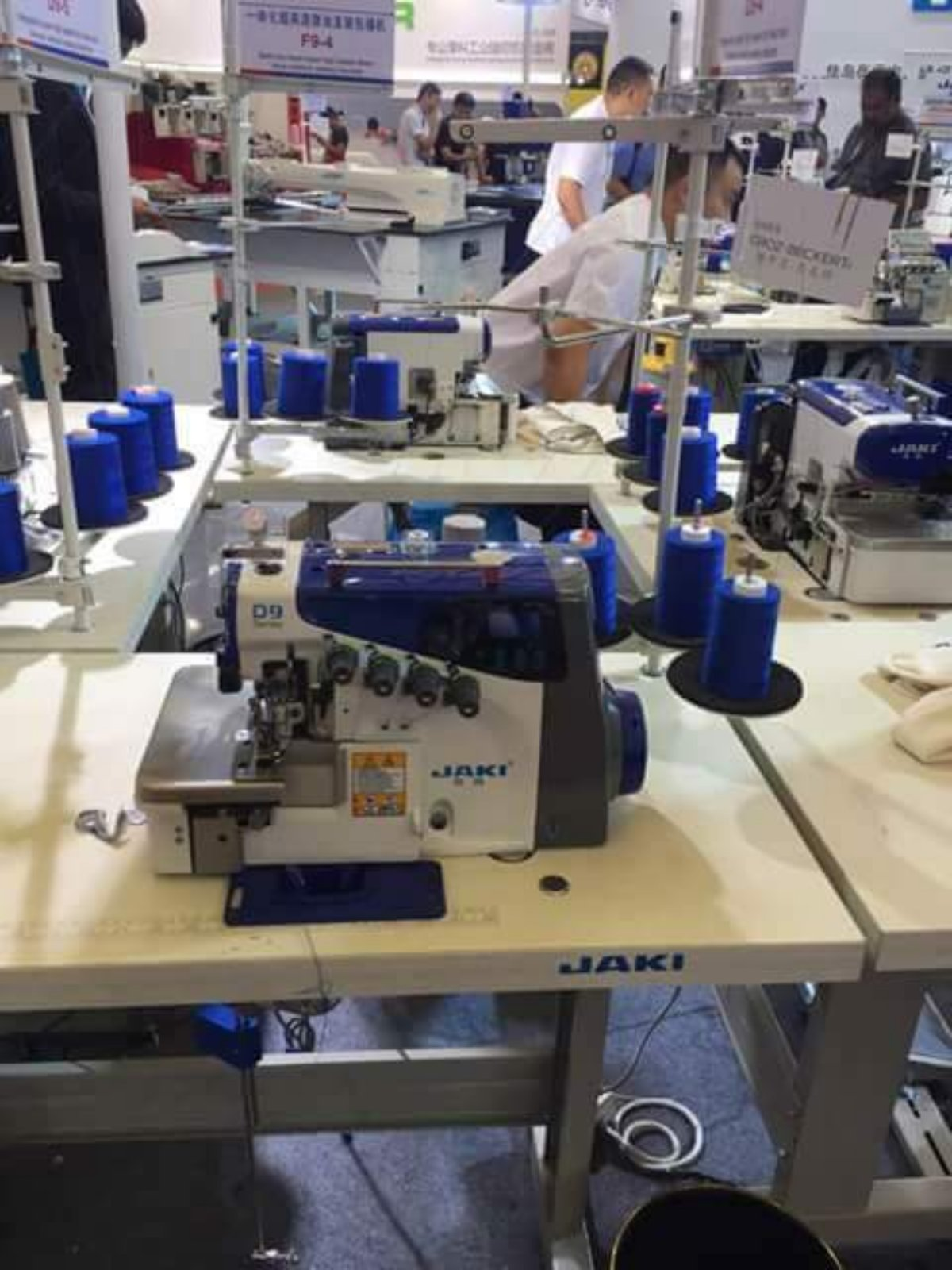 Brand Jaki Overlock Sewing Machine!