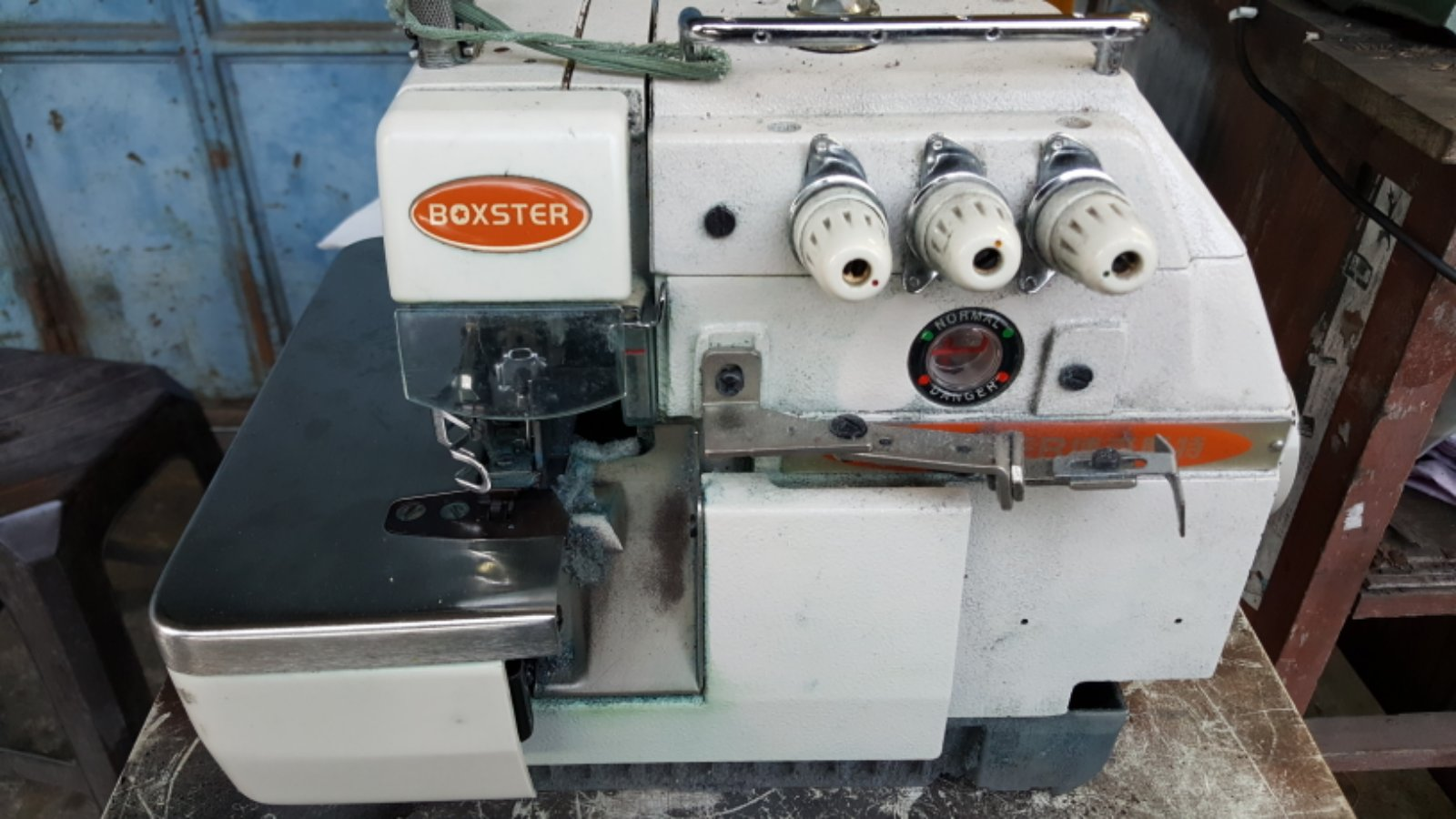 Repai Boxster Overlock Sewing Machine!