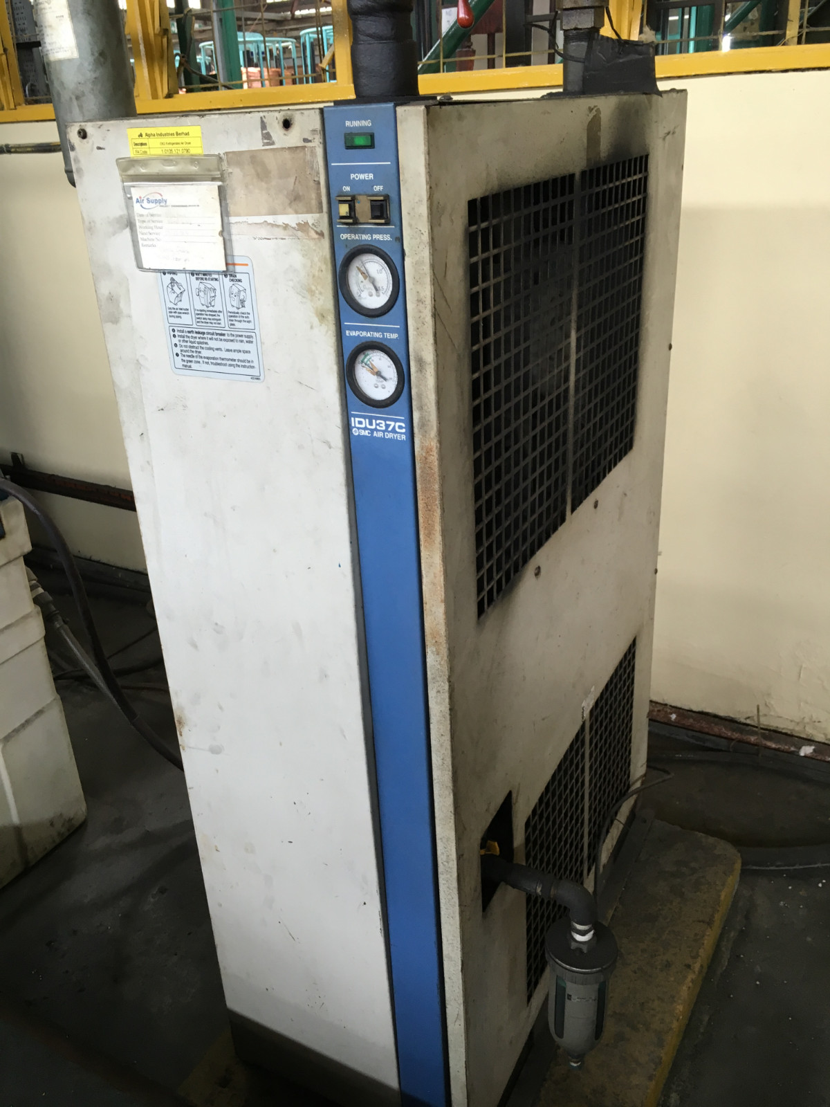 SMC Air Dryer IDU37C