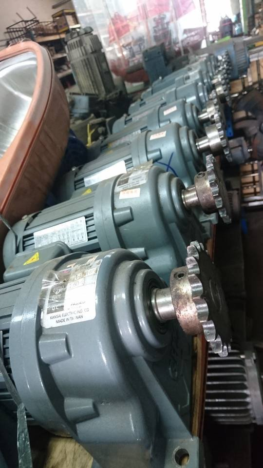 0.2kw 4poles Three Phase Gear Motor   Ratio: 1/60