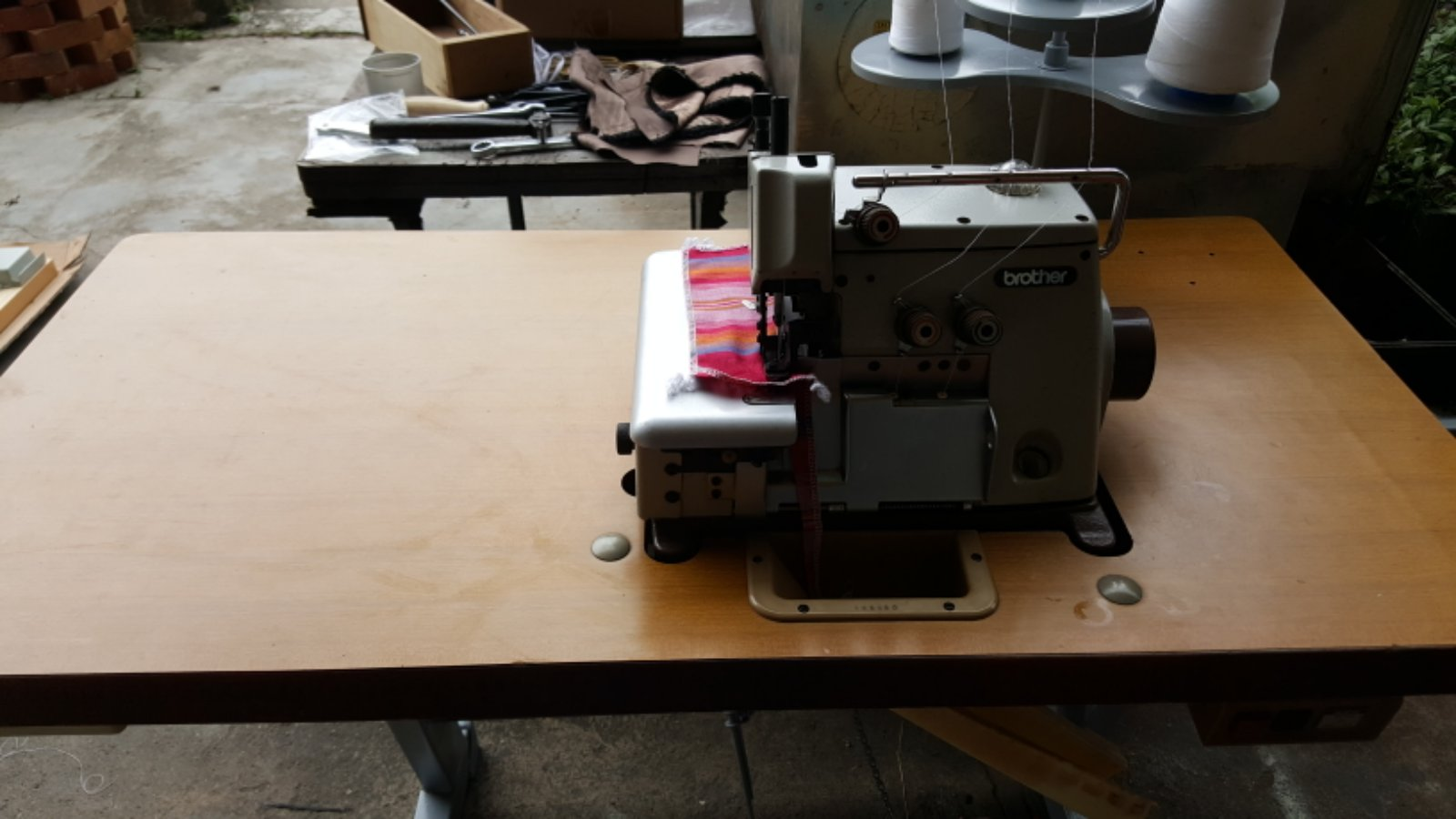 User Brother Overlock Sewing Machine!