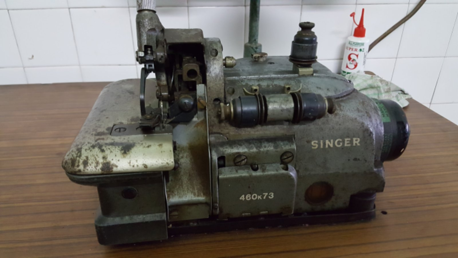 Service Singer Overlock Sewing Machine!