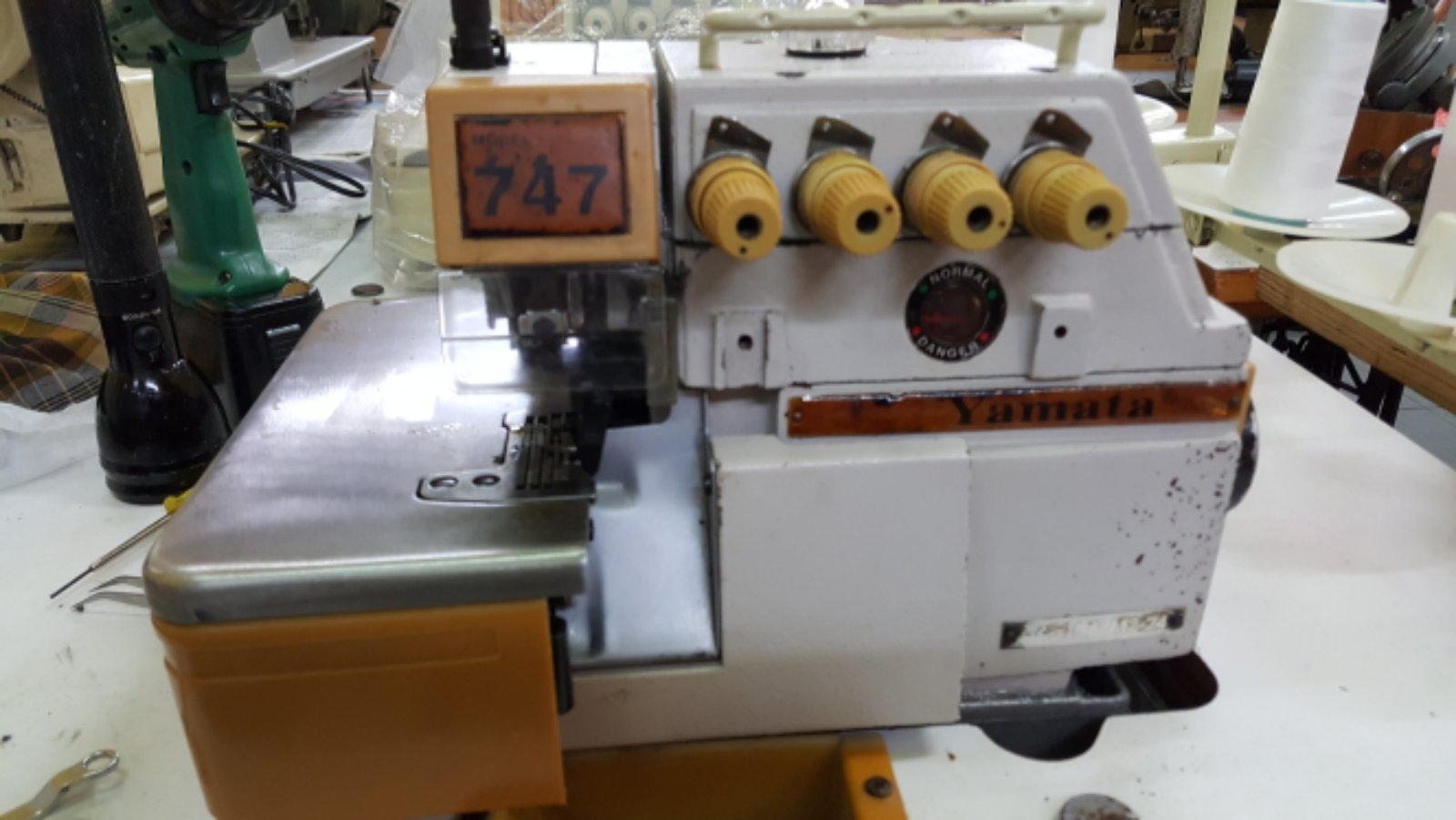 Second Hand Yamata Overlock Sewing Machine!