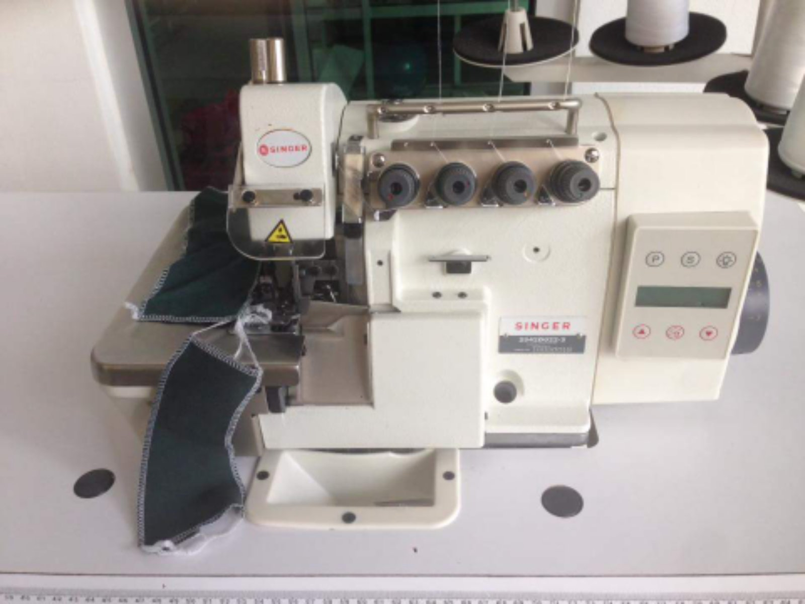 New Singer Industrial Overlock Sewing Machine