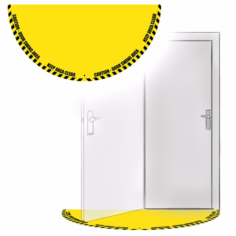 Door Area Swing Sticker