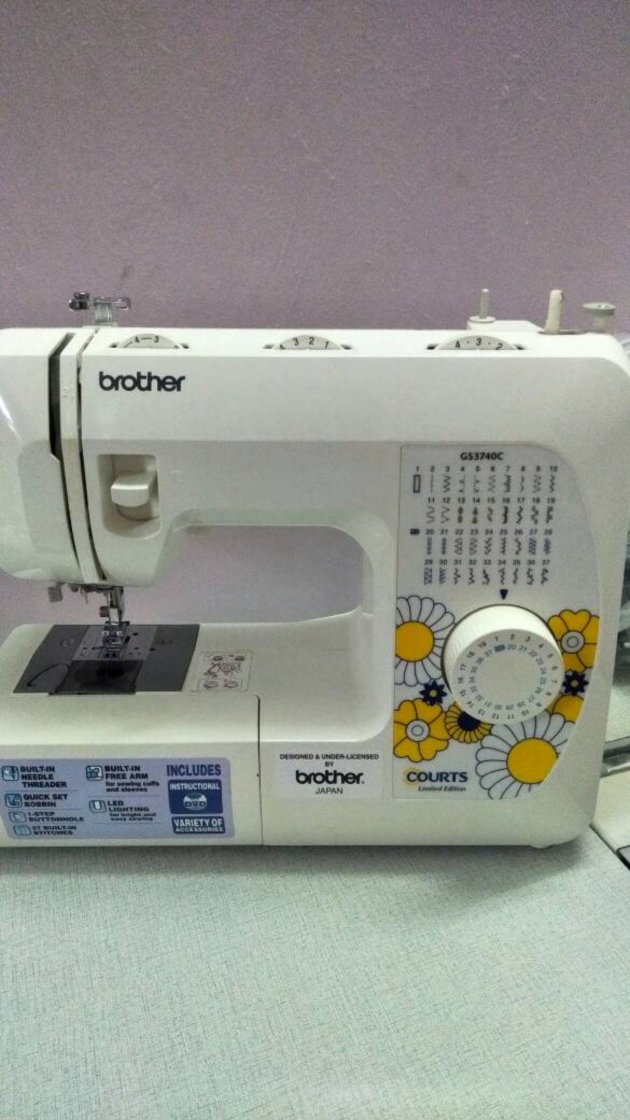 Second Hand Brother Portable Sewing Machine