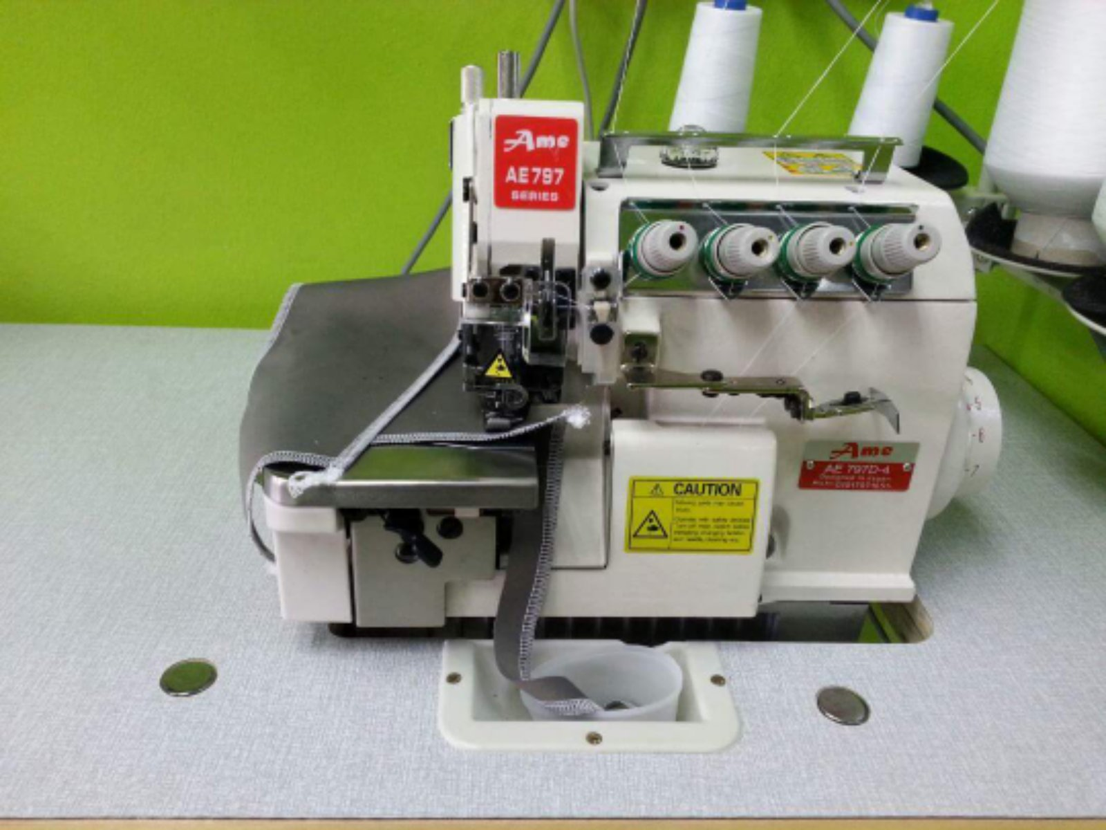 New Brand Industrial Overlock Sewing Machine