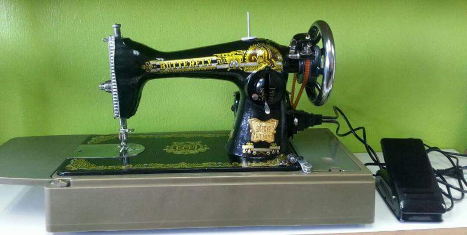 Butterfly Ha Sewing Machine