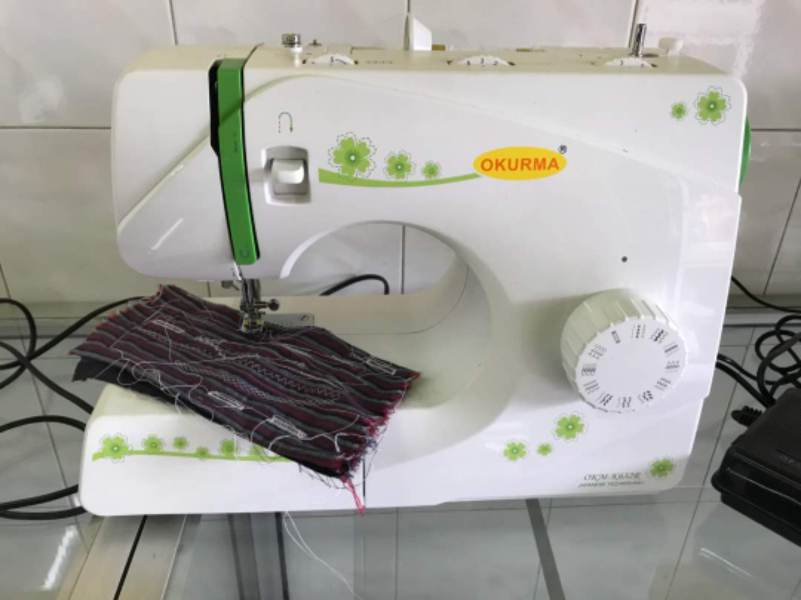 New Okurma Portable Sewing Machine