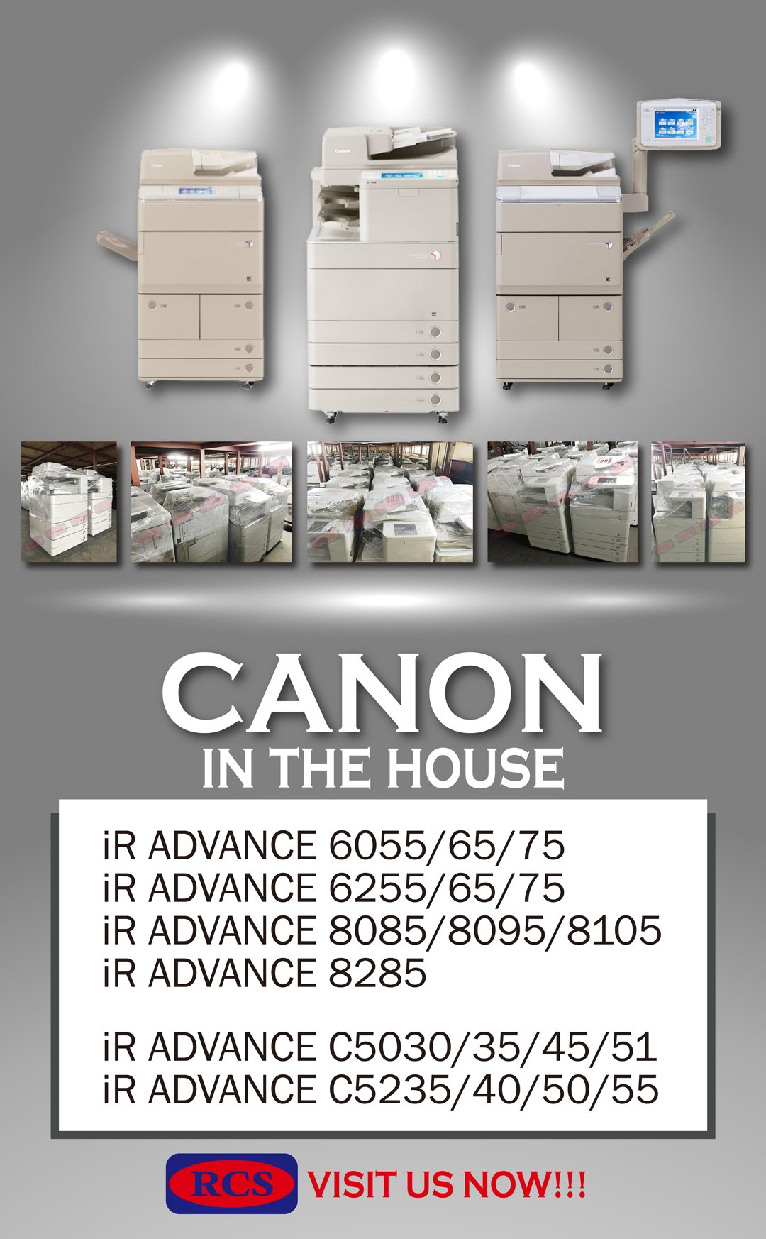 CANON IN THE HOUSE!! FUJI XEROX/RICOH/MINOLTA RECONDITIONED COPIER WHOLESALE