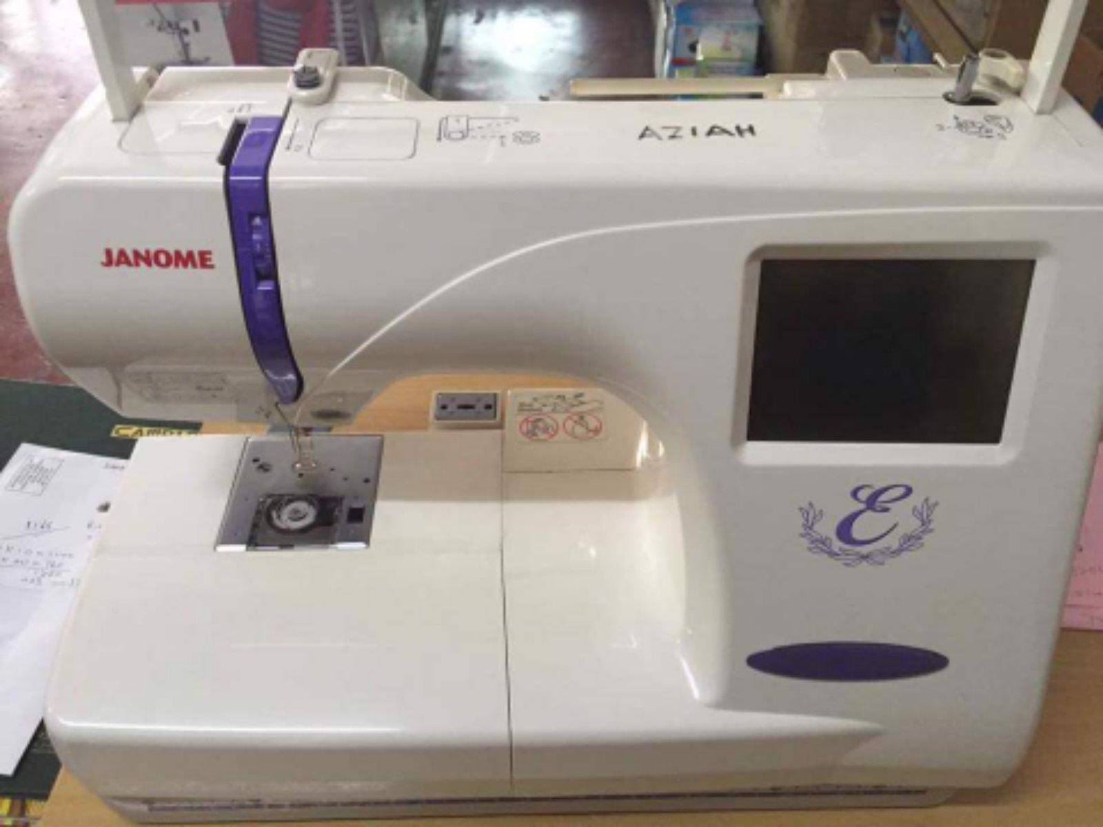 Second Hand Janome Emboidery Machine