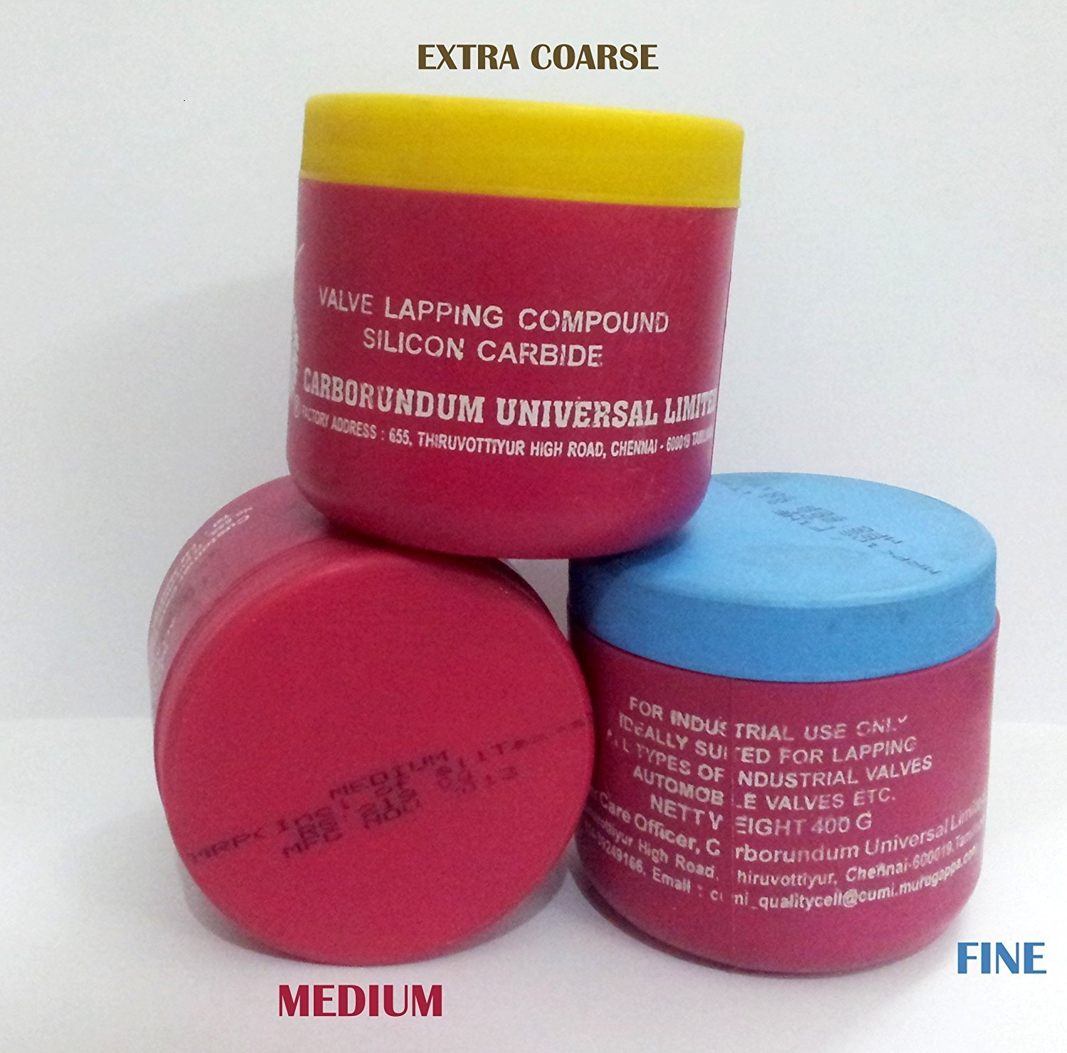 Lapping Paste And Lapping Compound
