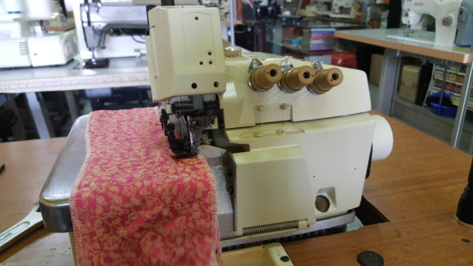 Second Hand Overlock Sewing Machine