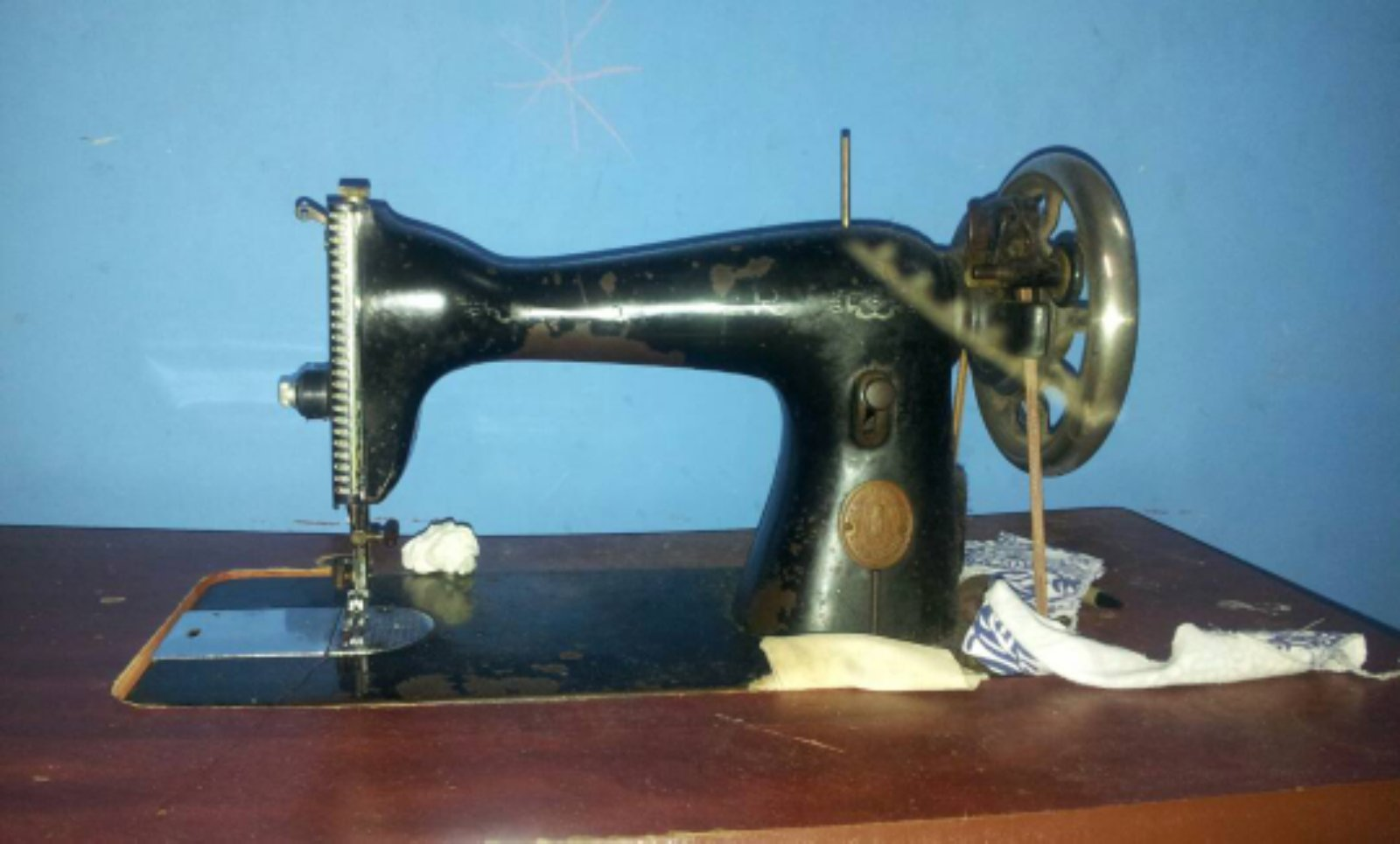Repair Singer Anti Sewing Machine