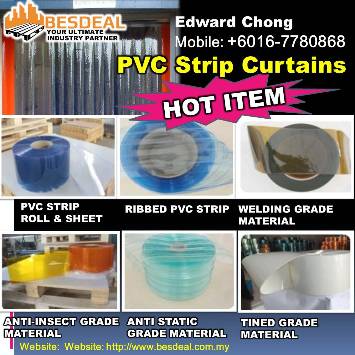 PVC Strip Curtains Hot Item Sales Now