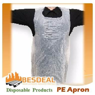 PE Disposable Apron For Sales Now!