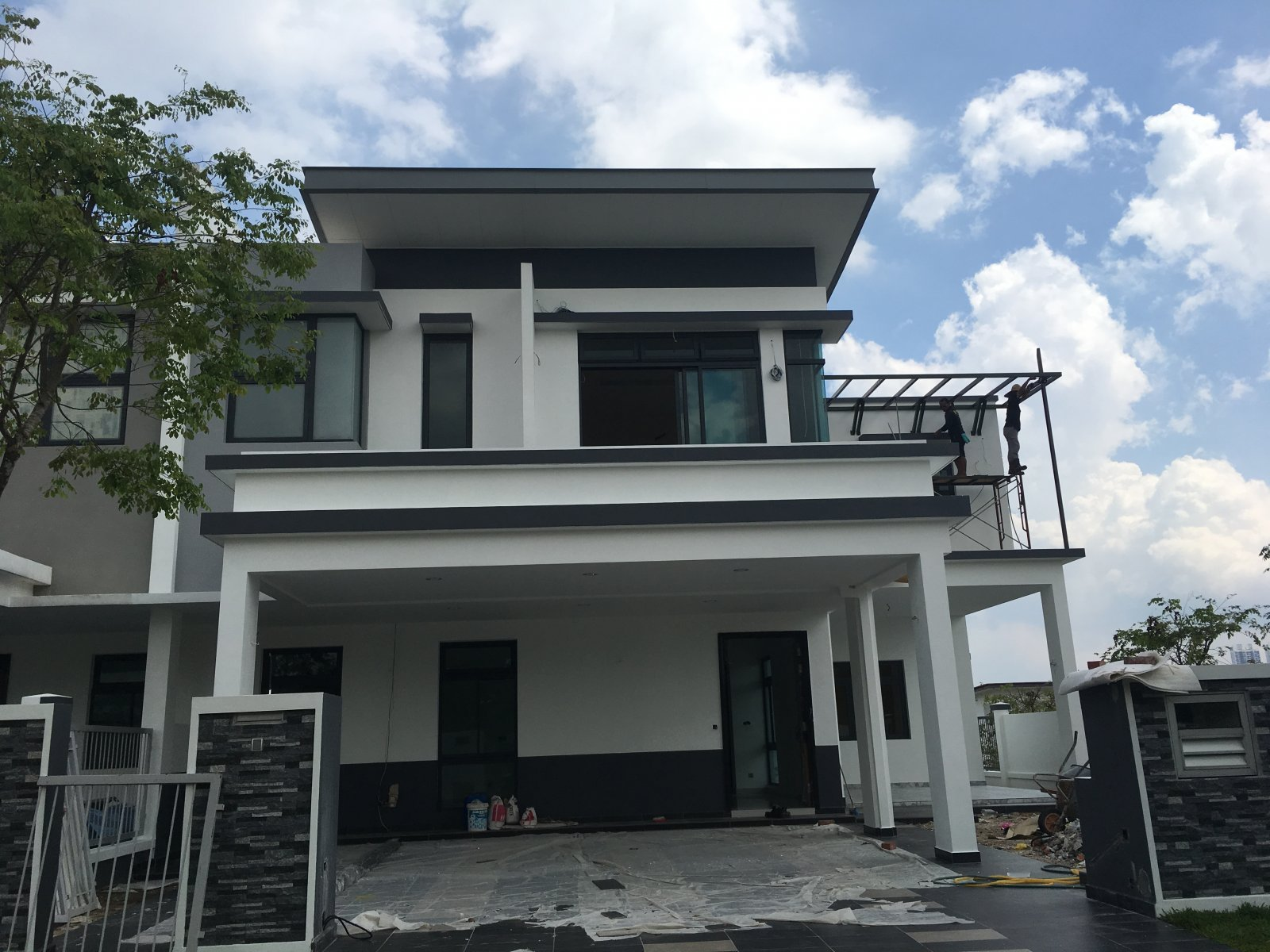 new job completed - Horizon hill Jalan Serambi