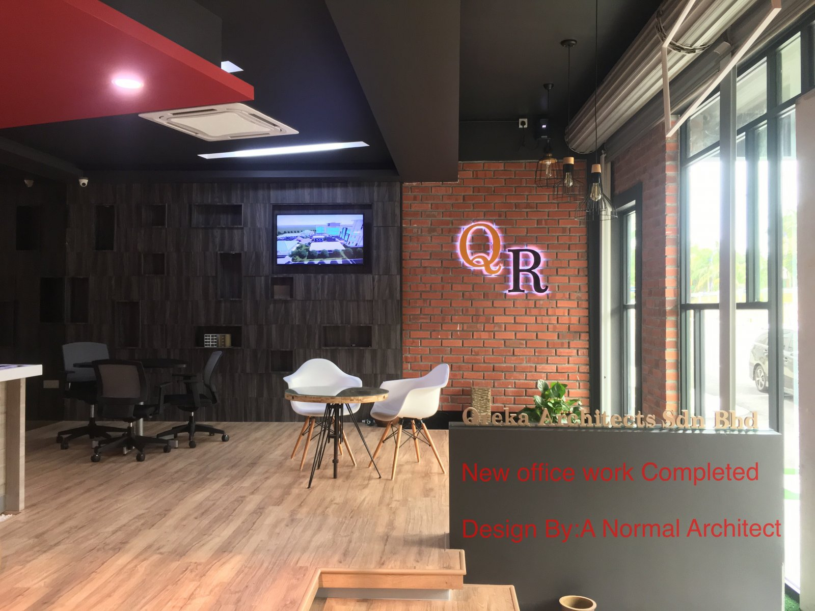 Office renovation completed , Johor Bahru