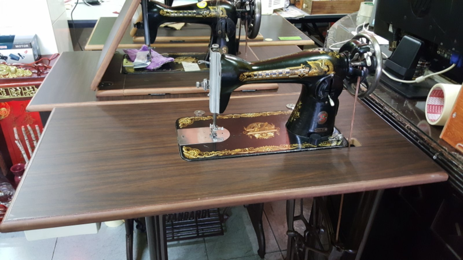 User Singer Sewing Machine