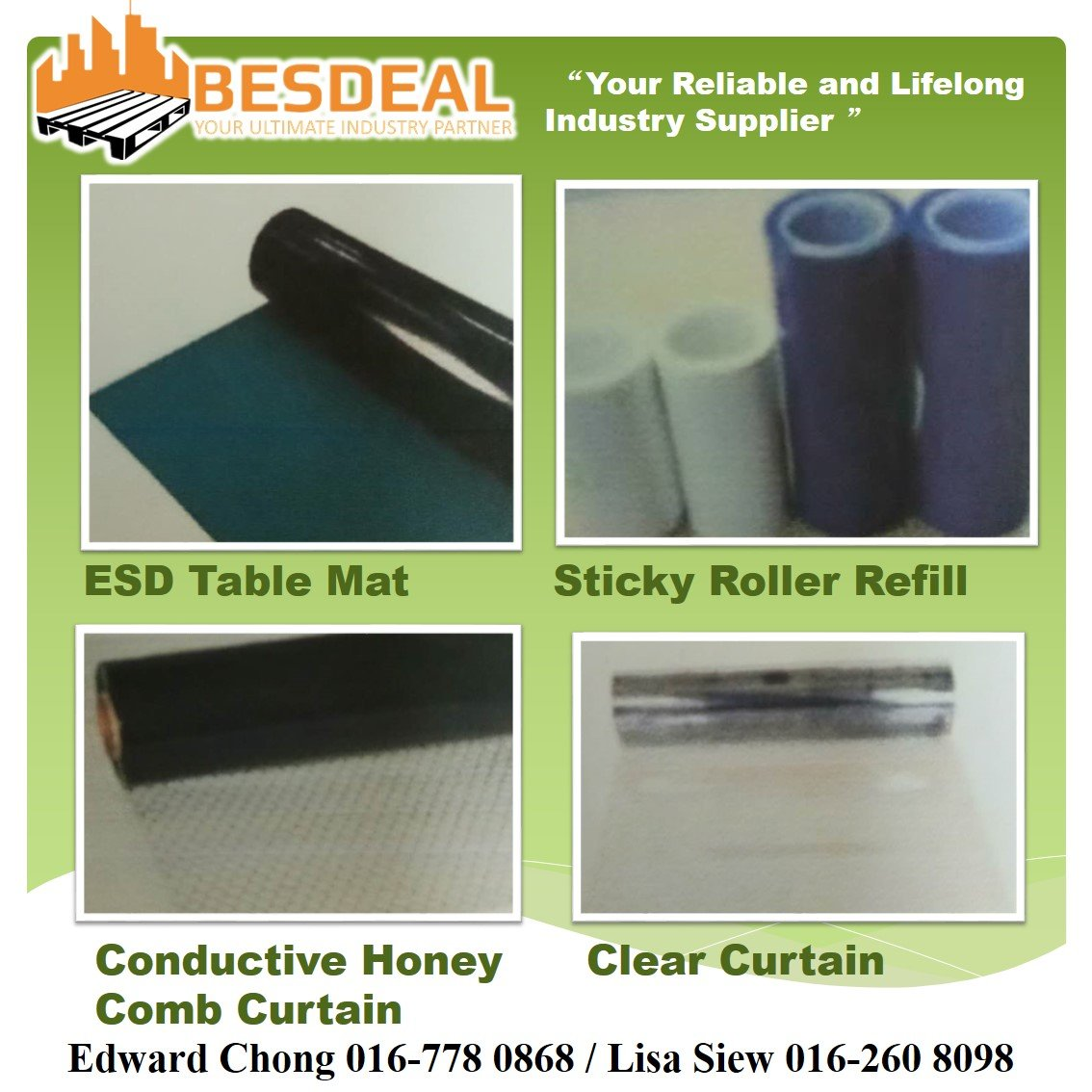 Cleanroom Floor Mat &ESD Curtains Get Sales Now!!