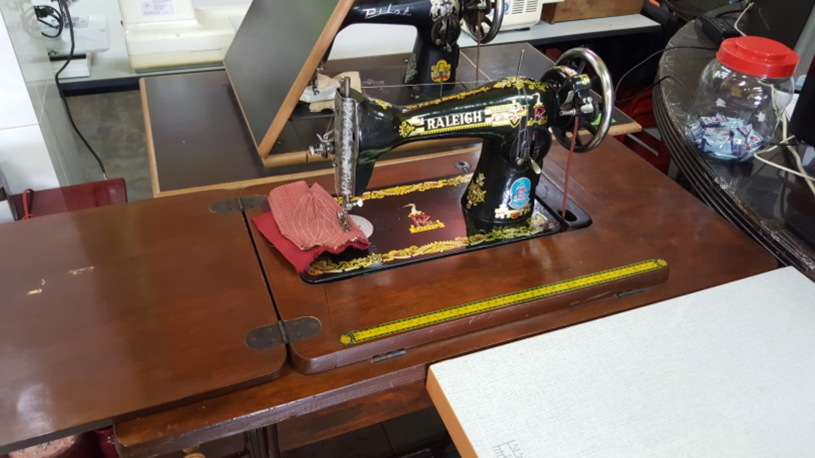 Second Hand Raleigh Sewing Machine